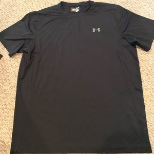 Mens UnderArmour Fitted Workout Tee